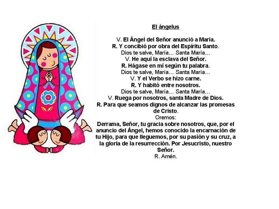 Oracion Para Presentacion De 3 Anos