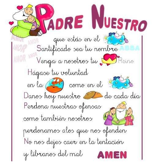 De El Padre Nuestro Oracion