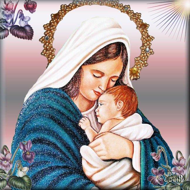 asombroso Virgen mamada